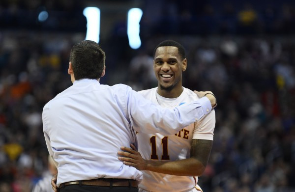 Monte Morris, Steve Prohm and Iowa State are Sweet Sixteen Bound (Photo: Ron Chenoy-USA TODAY Sports)