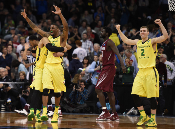 It wasn't easy, but top-seeded Oregon is advancing to the Sweet Sixteen (Photo: Kyle Terada-USA TODAY Sports)