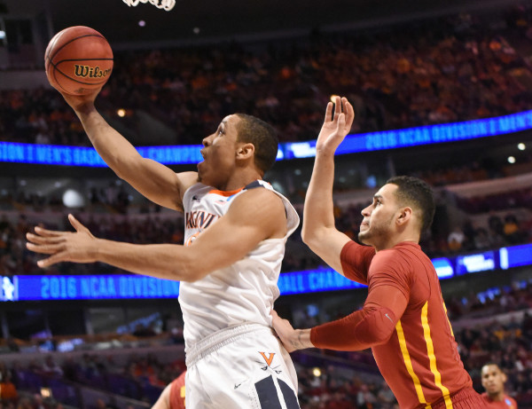 Malcolm Brogdon and Virginia got out early and stayed a step ahead of Iowa State all night. (Photo: David Banks-USA TODAY Sports)