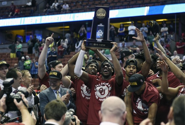 Oklahoma Celebrates Its First Final Four in 12 Years (USA Today Images)