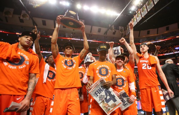 Syracuse unexpectedly conquered all foes in the Midwest Region. (Photo: Dennis Wierzbicki-USA TODAY Sports)