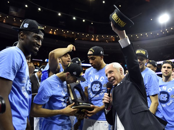 Roy Williams Leads North Carolina to the Final Four for the 19th Time in School History (USA Today Images)