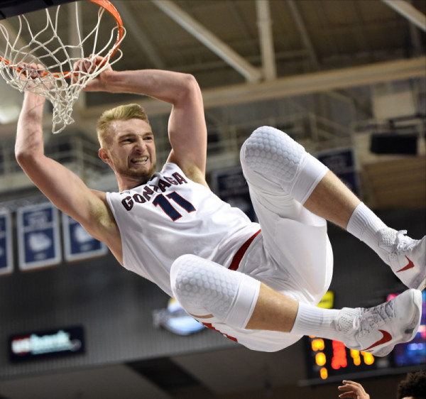 Domantas Sabonis Has The Zags Swinging Into Their 18th-Straight NCAA Tournament (Robert Johnson/Icon Sportswire)