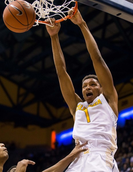 Ivan Rabb May Not Have The Flash Of His Teammate Jaylen Brown, But He's Been Rock-Solid For Cal (John Hefti-USA TODAY Sports)