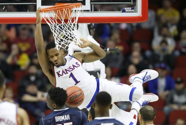 Wayne Selden and the Jayhawks look better than ever. (Associated Press)
