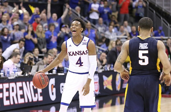 Expect more smiles from Kansas in the coming weeks. (Nick Krug)