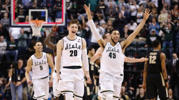 Fresh off a Big Ten tournament title, Michigan State is as hot as any team in the field of 68. (Photo: AP)