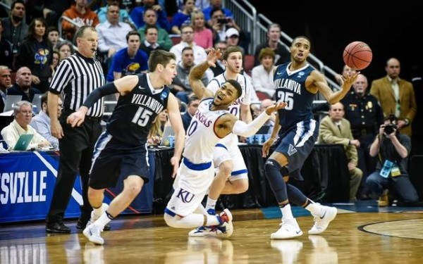 Villanova will look to knock out another Big Twelve power on Saturday. (Rich Sugg | The Kansas City Star)