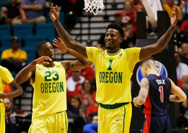 Behind A Versatile And Talented Rotation, Oregon Advanced To The Pac-12 Title Game (John Locher, AP Photo)