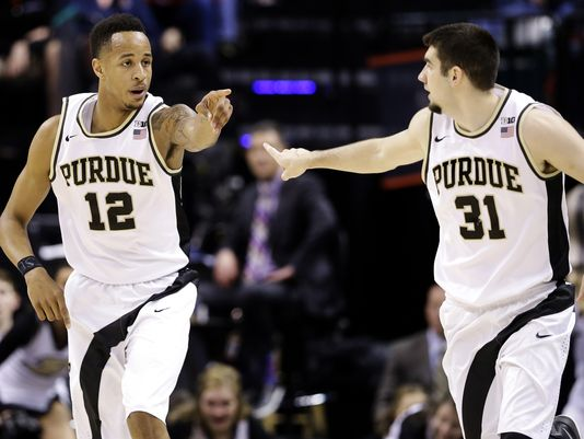 The Boilermakers will play for a B1G title on Sunday. (Mykal McEldowney/IndyStar)