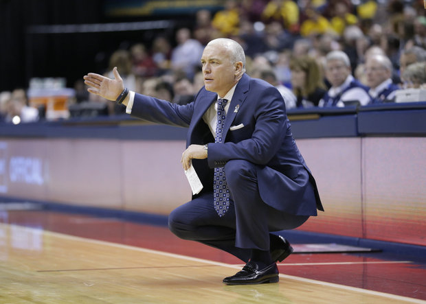 Pat Chambers signed the highest-rated recruiting class in Penn State history, but will it bring immediate results (AP Photo/Michael Conroy).