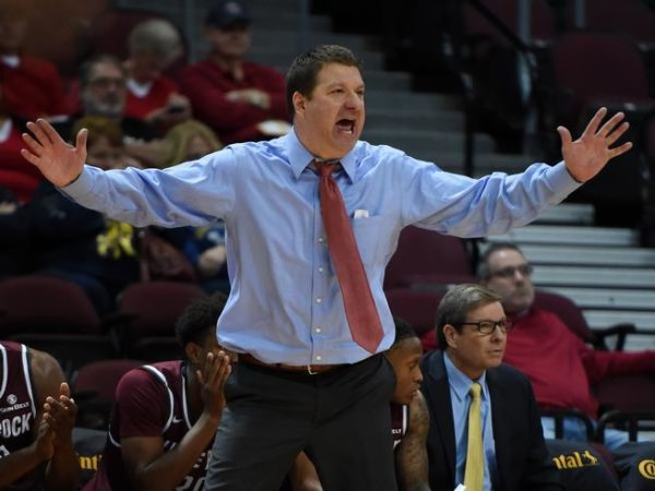 Texas Tech reached back in its history in plucking Chris Beard from UNLV. (Ethan Miller/Getty Images)
