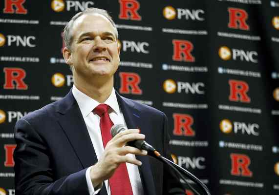 Among Steve Pickiell's many tasks as Rutgers head coach will be to gain recruiting appeal in New York and New Jersey (Photo: Julio Cortez — The Associated Press).