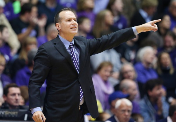 Chris Collins Enters Year Three in Evanston (USA Today Images)