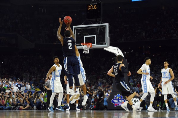 Kris Jenkins Made History With His Buzzer-Beating Championship Winner (USA Today Images)