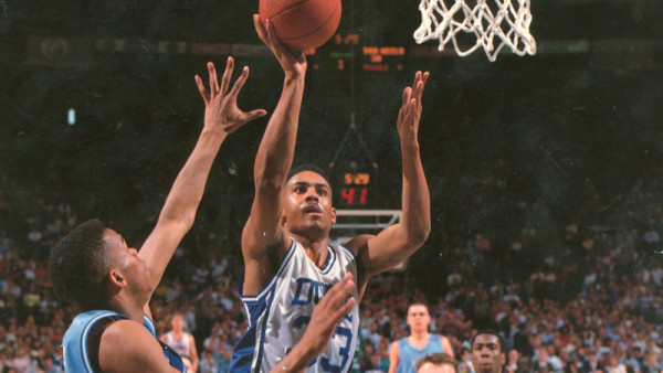 Grant Hill played in three Final Fours while at Duke. (Credit: Duke Sports Information)