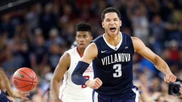 Josh Hart and the Wildcats hope to do more celebrating tonight. (AP Photo/Eric Gay)