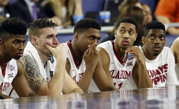 Oklahoma was the Big 12's final NCAA Tournament casualty this season. (David J. Phillip, AP)