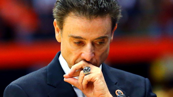 Rick Pitino may be in for a stressful offseason. (photo: Getty Images)