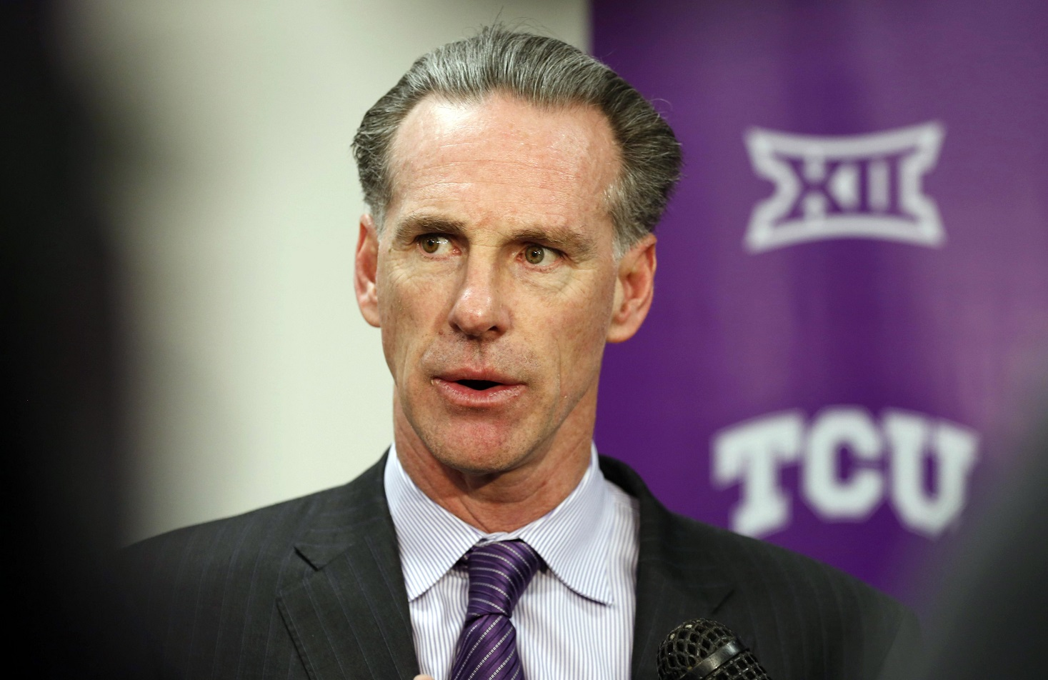 TCU brought their man home. Is Big 12 relevance next for the Horned Frogs?. (Ron T. Ennis/Fort Worth Star-Telegram)