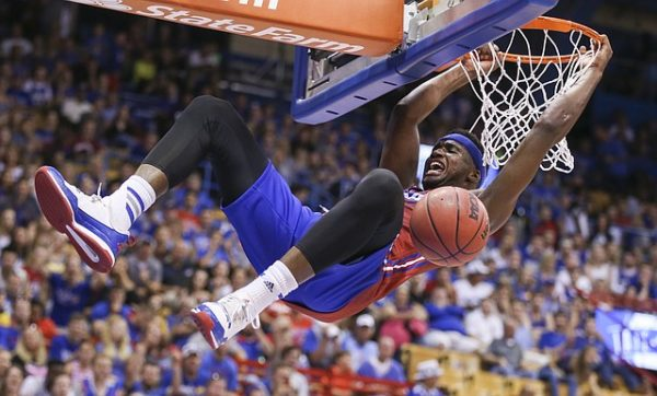 Carlton Bragg will be asked to carry more of the load for Kansas this season. (Photo Credit: Nick Krug/KUSports)