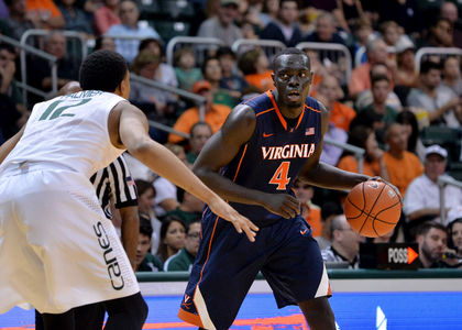 Virginia needs Marial Shayok to pick up some scoring slack. (Steve Mitchell/USA Today Sports)
