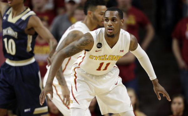 Monte Morris is delivering for Iowa State early. (AP Photo/Charlie Neibergall)