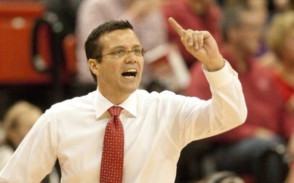 Tim MIles and his Nebraska team will have a rough early schedule in 2016-17. (Getty).