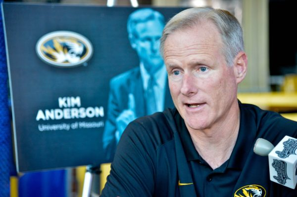 Kim Anderson Has a Lot of Work Still Ahead in Columbia (USA Today Images)