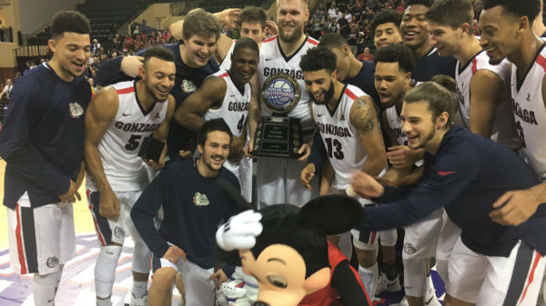 Gonzaga looked every bit like a Top 10 team during Feast Week. (Photo: ZagsMBB/Twitter)