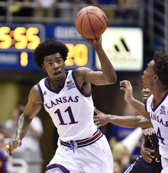 Josh Jackson struggled against Indiana. Can he break out against Duke in the Champions Classic? (Photo: Kansas City Star)