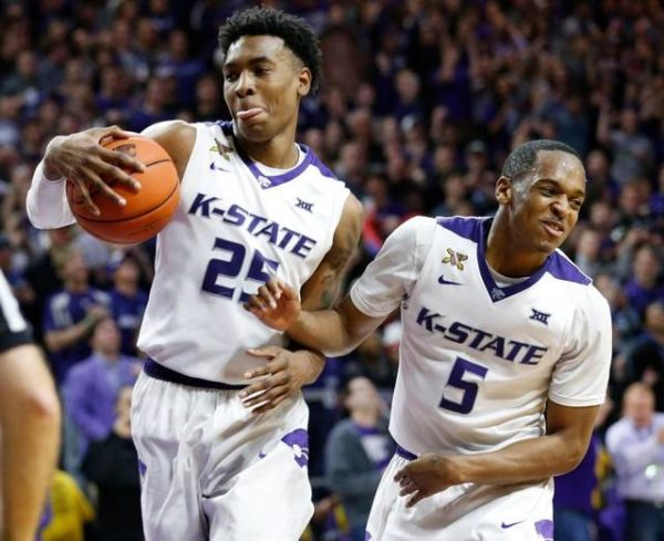Wesley Iwundu (25) And Barry Brown (5) Will Look To Help Kansas State Remain Perfect in Brooklyn (Photo: Wichita Eagle)