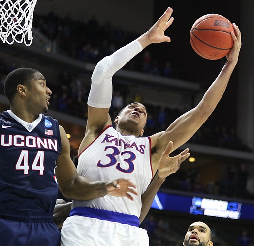 The paint could be a lonely place for Landen Lucas in 2016-17. (KUSports.com/Nick Krug)