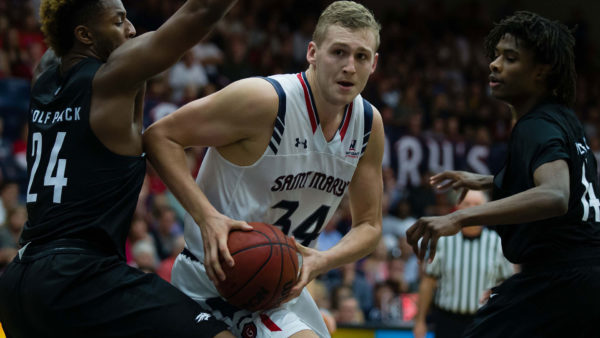 Saint Mary's center Jock Landale has been nothing short of excellent. (USATSI)