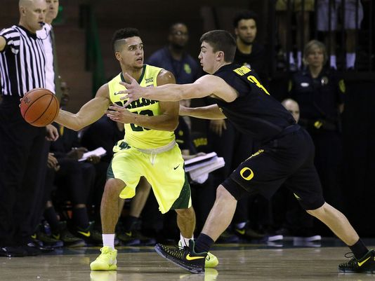 Baylor point guard Manu Lecomte (#20) has dazzled in his first three games as the Bears' new point guard. (Raymond Carlin III/USA Today Sports)