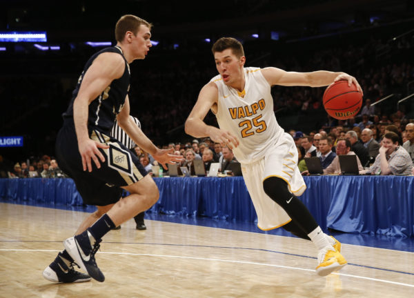 Valparaiso's Alec Peters is our pick for O26 Player of the Year. (Jeff Zelevansky / Getty Images)