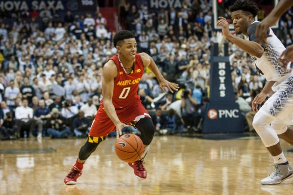 Anthony Cowan's emergence at the point guard position should help Melo Trimble's offensive production.