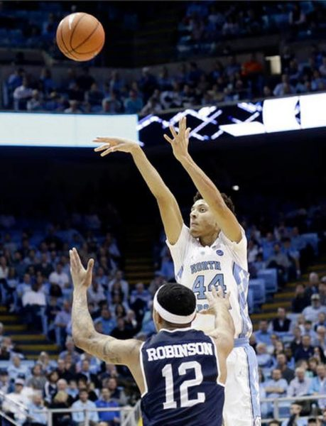 Justin Jackson has been red-hot lately for North Carolina. (Gerry Broome-AP Photo)