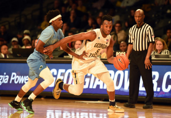 Yellow Jackets freshman Josh Okogie has been one of this biggest surprises in the country. (Adam Hagy/USA Today)