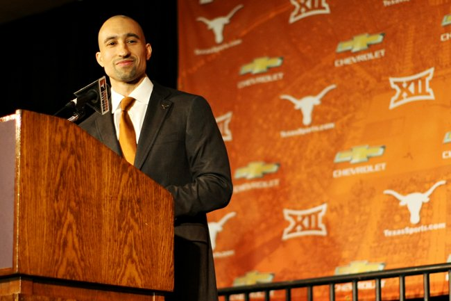 Unfortunately, it hasn't been all smiles for Shaka Smart and Texas lately. (Texas Athletics)