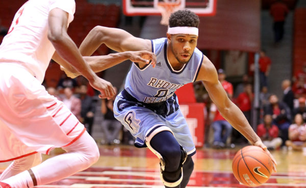 Rhode Island guard E.C. Matthews scored 31 points in Saturday's loss to Houston, one point shy of tying a career high. (Photo courtesy of GoRhody.com)