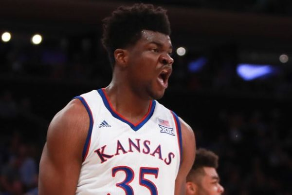 Kansas will miss Udoka Azubuike, but the Jayhawks' championship aspirations remain intact. (Michael Reaves/Getty)