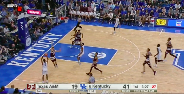 Monk needs to drive the lane in transition.